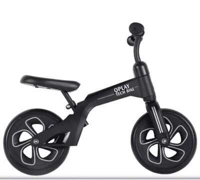 Loopfiets Tech Bike Zwart Qplay