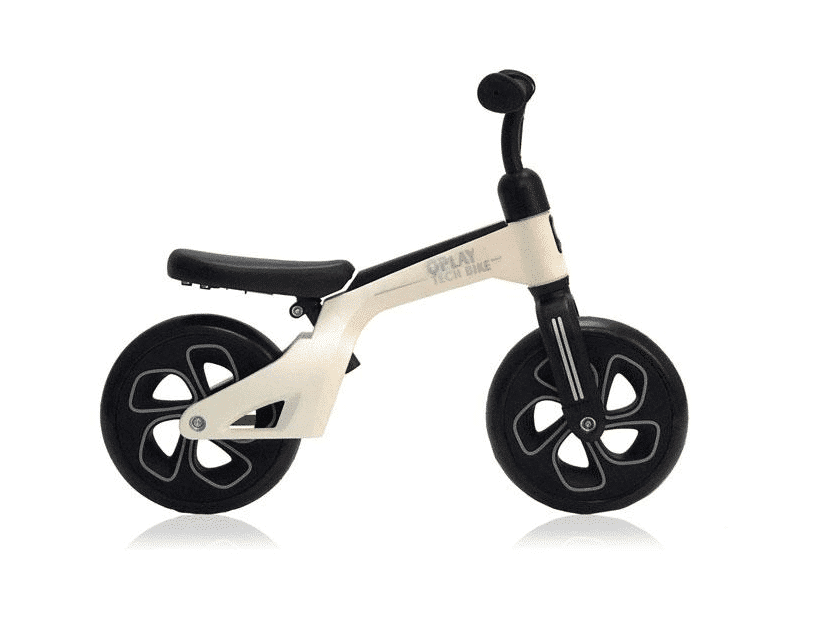 QPLAY Loopfiets 10 inch wit