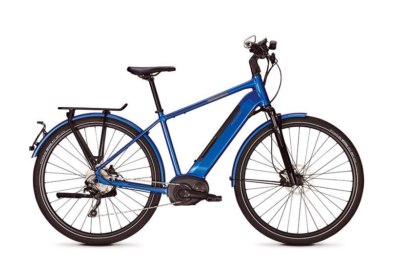 Speed Pedelec Raleigh Kent 10 H Deore 10 Sp Laguna Blue