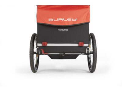 Burley Fietskar Honey Bee Kind Rood