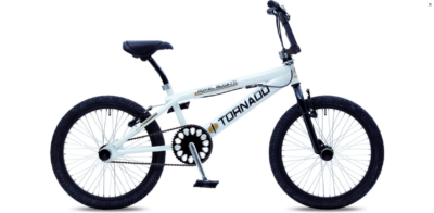 Royal Bugatti Freestyle BMX fiets - 20 inch - Wit/Zwart