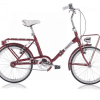 Vouwfiets ANGELA 20 FW - ROOD (P6)