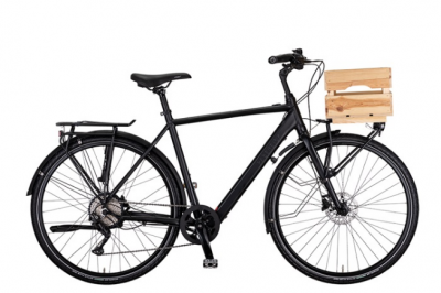 HERENFIETS RABENEICK TC-E CARRY GENTS SHI DEORE 10 versnellingen DISC GATES