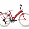 BIKEFUN DREAM BIG GIRLS 24 inch 6 versnellingen ROOD